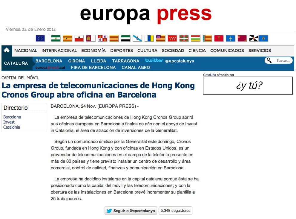 Europa_Press_CronosGroup